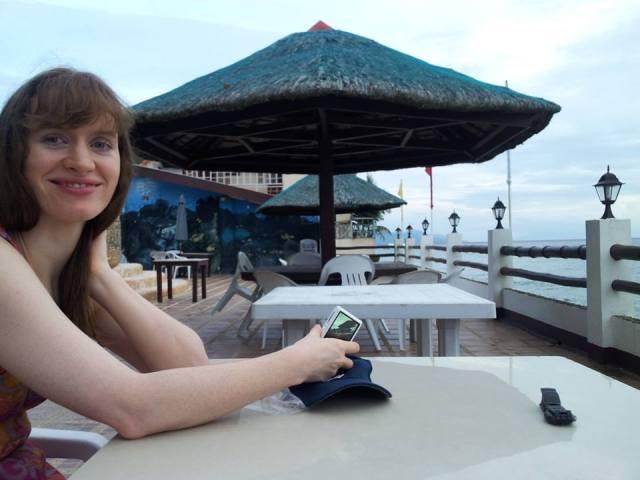 Relaxing on da beach :)