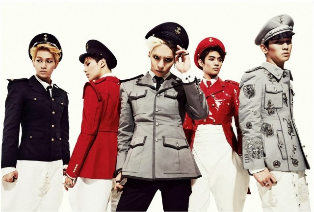 The SHINee boys