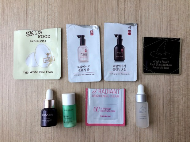 My all-Korean samples haul :)