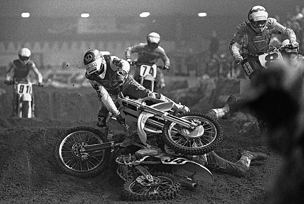 Arenacross at Cloverdale Arena, December 1990