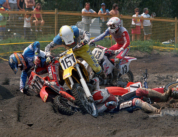 National motocross at Mission 1992