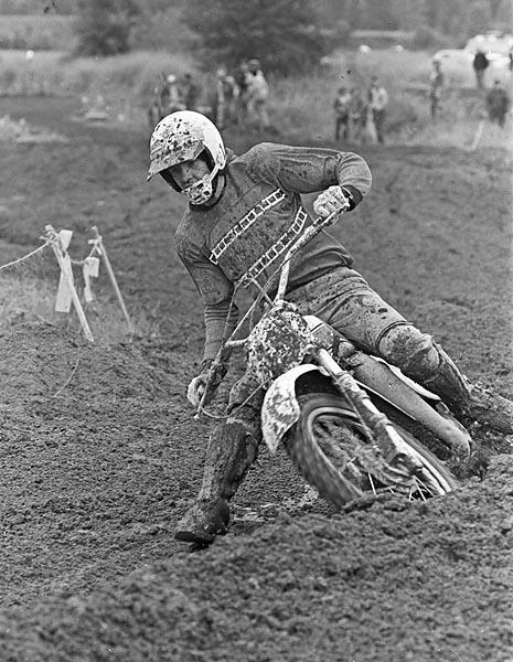 Larry McKenzie motocross 1976