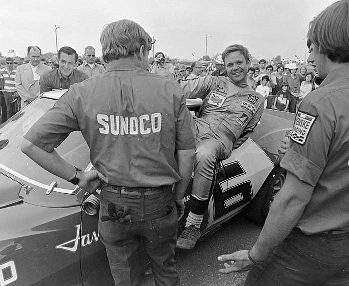 Mark Donahue race car driver