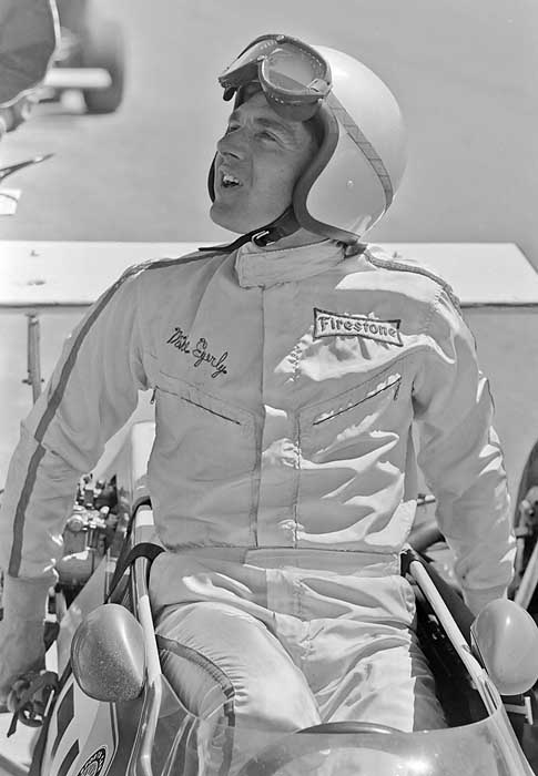 Mike Eyerly race car driver