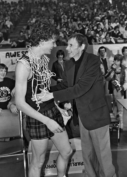 Brian Upson basketball