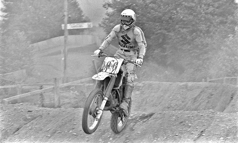1984 -- CMA motocross race at Little Rock Raceway in Aldergrove