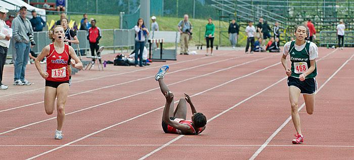 Amabel Stokes 400 meters 2009