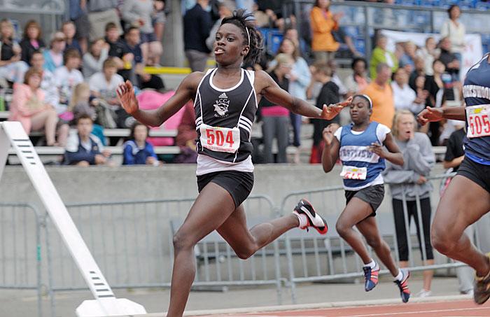 Esinam Attah-Ayesu sprinter 2009