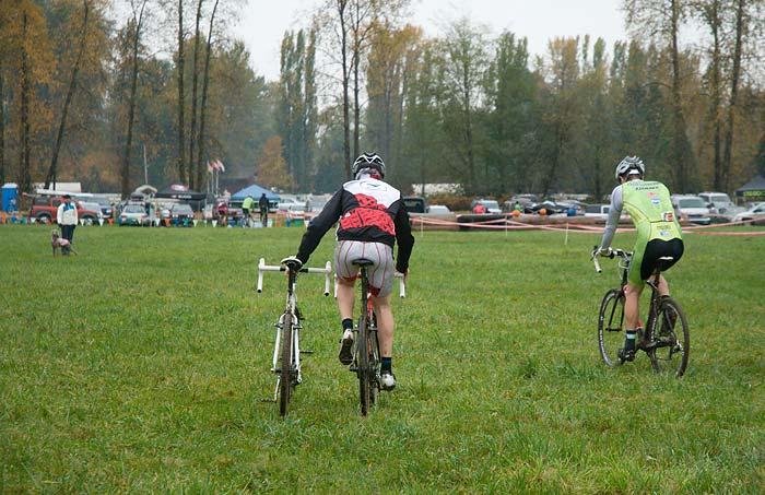 Local rider cyclocross race 2009