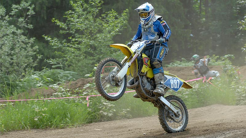 Kim Moran motocross