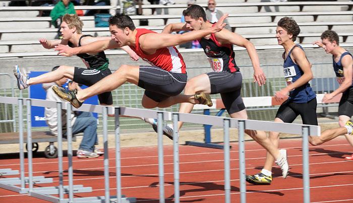 Sebastian Munro 110 meter hurdles