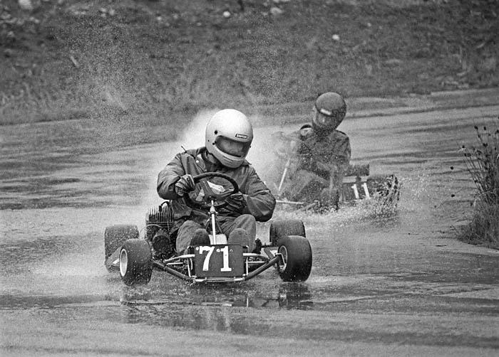 kart racing at Westwood