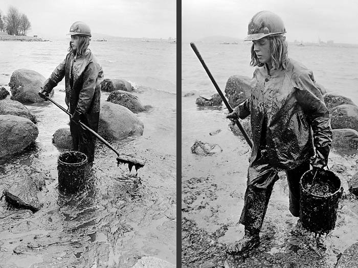 1973 Oil spill Vancouver a