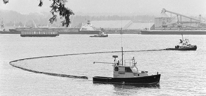 1973 Oil spill Vancouver e