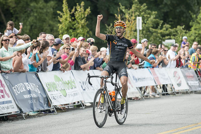 Jesse Anthony wins the 2014 Tour of Delta