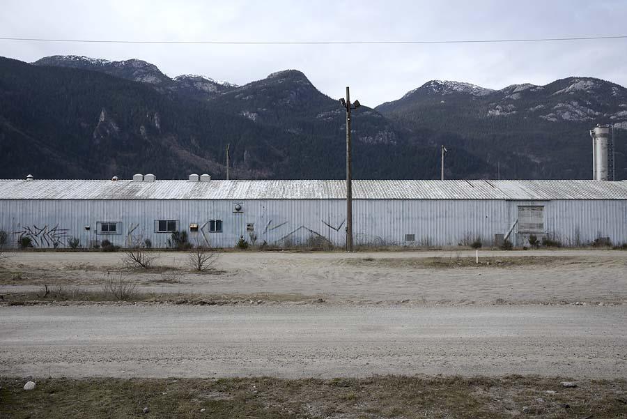 Squamish port area Galbraith Avenue