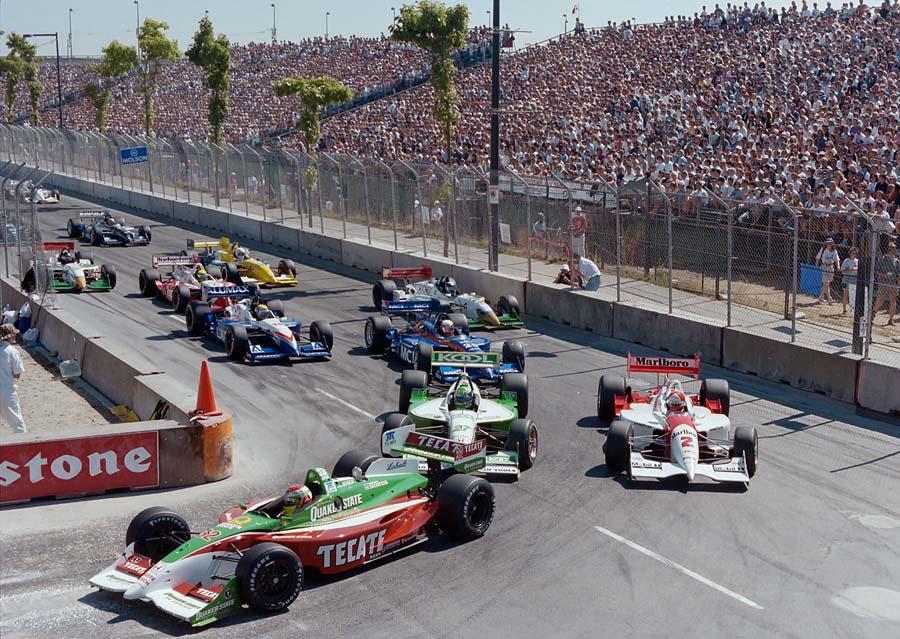 Indy car race Vancouver