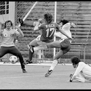 North American Soccer League picture of the year 1976.
