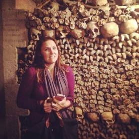 A few days before Halloween in Les Catacombes de Paris (October 2014)