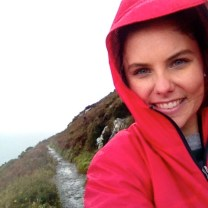 A very rainy, foggy, windy, and chilly two-hour hike on the cliffs of Howth, Ireland (October 2014)