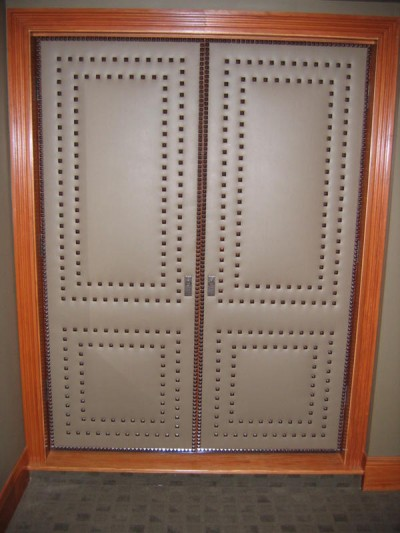 Upholstered Doors Interior Design Indianapolis