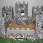maqueta castillo medieval