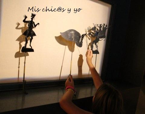 Sombras chinas en el museo del cine, Girona
