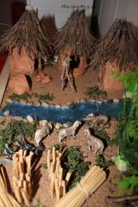 Casas barro Neolítico