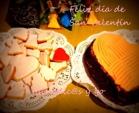 Reposteria San Valentín