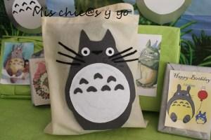 Bolsa decorada Totoro