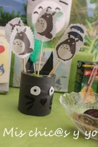 cumpleaños temático Totoro