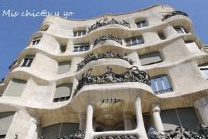 Fachada Pedrera Barcelona
