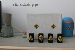 Proyecto escolar central nuclear