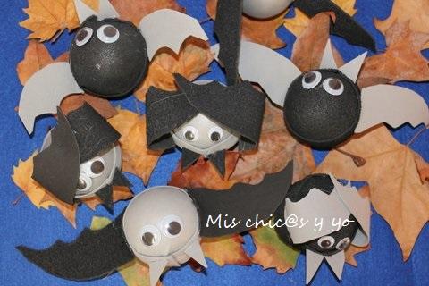 Murciélagos foam Halloween
