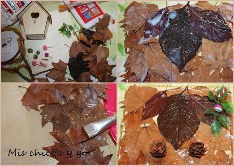 Manualidad de otoño: casita de Hansel y Gretel  paso a paso