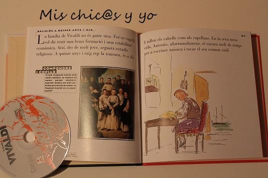 Libro CD de Vivaldi para niños