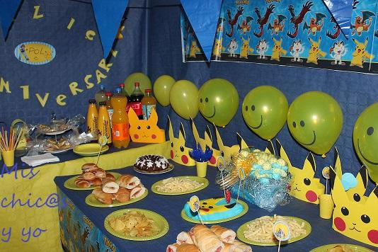 Cumpleaños Pokémon