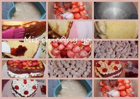 Receta tarta de fresa paso a paso
