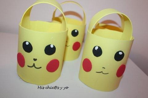 Dulceros con motivo de Pikachu