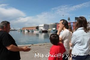 Visitas en familia cap a mar