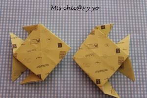 Peces origami