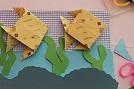 decorar cuaderno origami