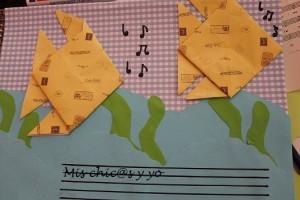 Libreta música hand made
