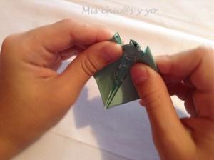 Barco de papel para niños