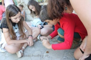 Taller prehistoria niños Cantabria