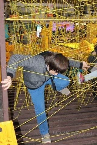Gymkhana en el Festival de la Infancia