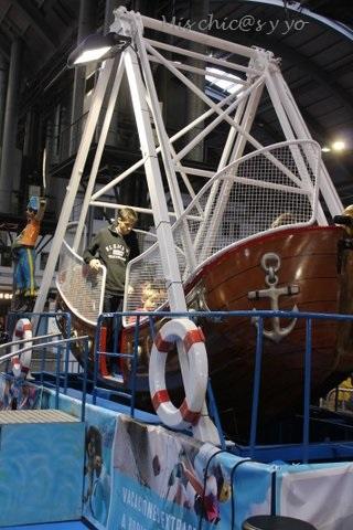 Barco pirata en el Festival de la Infancia