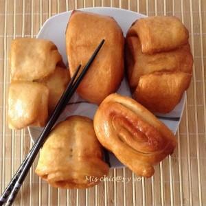 Mantou chino frito