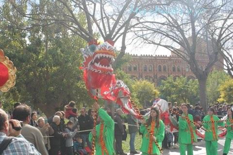 Tradiciones chinas en Cataluña