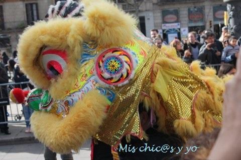 Desfile de Año Nuevo Chino, Barcelona